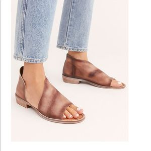 NEW FREE PEOPLE MONT BLANC SANDAL BOOTS